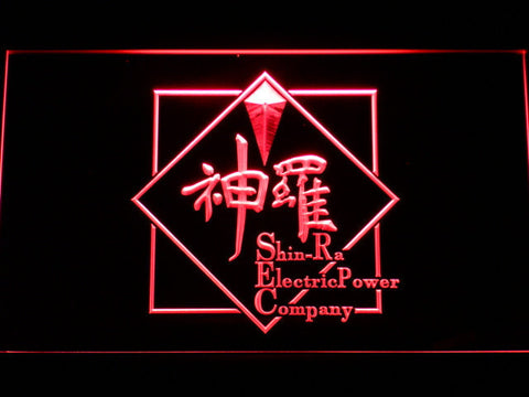 Image of Final Fantasy VII - Shin-Ra LED Neon Sign - Red - SafeSpecial