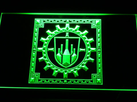 Final Fantasy XI - Bastok LED Neon Sign - Green - SafeSpecial