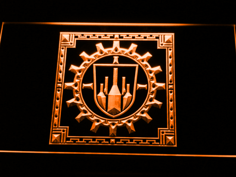 Final Fantasy XI - Bastok LED Neon Sign - Orange - SafeSpecial