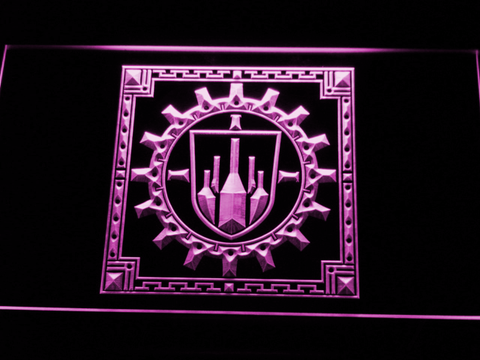 Final Fantasy XI - Bastok LED Neon Sign - Purple - SafeSpecial