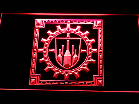 Final Fantasy XI - Bastok LED Neon Sign - Red - SafeSpecial