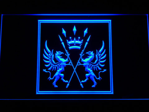 Final Fantasy XI - San d'Oria LED Neon Sign - Blue - SafeSpecial