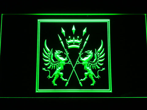 Final Fantasy XI - San d'Oria LED Neon Sign - Green - SafeSpecial