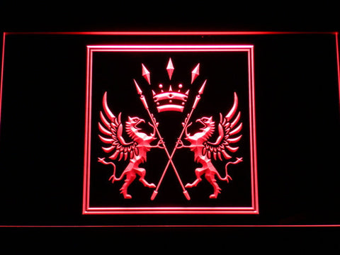 Final Fantasy XI - San d'Oria LED Neon Sign - Red - SafeSpecial