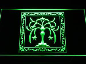 Final Fantasy XI - Windurst LED Neon Sign - Green - SafeSpecial