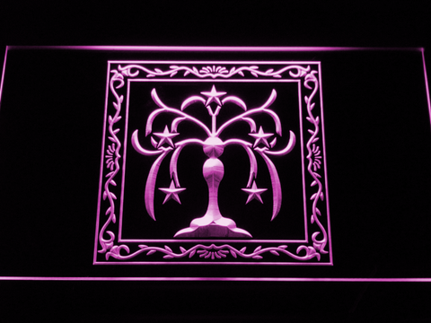 Final Fantasy XI - Windurst LED Neon Sign - Purple - SafeSpecial