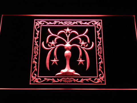 Final Fantasy XI - Windurst LED Neon Sign - Red - SafeSpecial