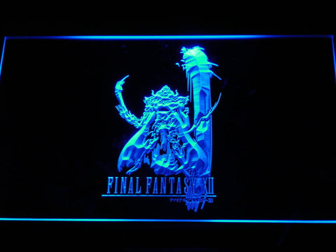 Image of Final Fantasy XII LED Neon Sign - Blue - SafeSpecial