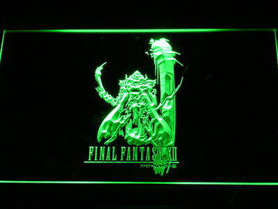 Final Fantasy XII LED Neon Sign - Green - SafeSpecial