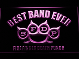 Five Finger Death Punch Best Band Ever LED Neon Sign - Purple - SafeSpecial