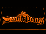 Five Finger Death Punch Gothic LED Neon Sign - Orange - SafeSpecial