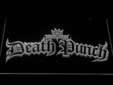 Five Finger Death Punch Gothic LED Neon Sign - White - SafeSpecial