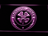 Flogging Molly LED Neon Sign - Purple - SafeSpecial