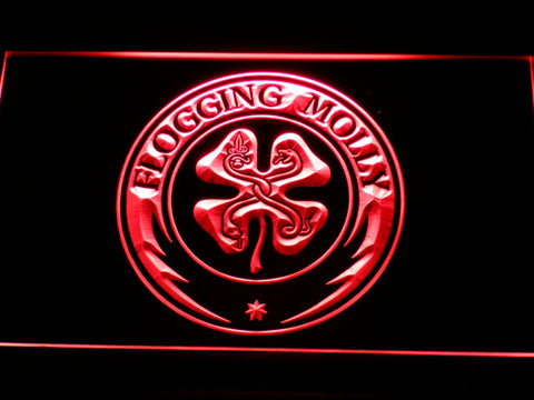 Flogging Molly LED Neon Sign - Red - SafeSpecial