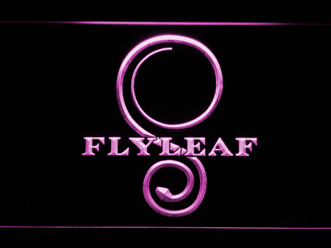 Flyleaf Memento Mori LED Neon Sign - Purple - SafeSpecial