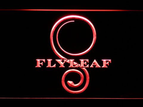 Flyleaf Memento Mori LED Neon Sign - Red - SafeSpecial