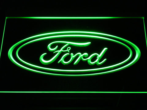Image of Ford LED Neon Sign - Green - SafeSpecial