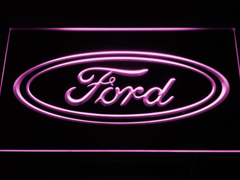 Image of Ford LED Neon Sign - Purple - SafeSpecial