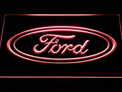 Ford LED Neon Sign - Red - SafeSpecial