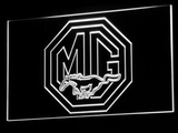 Ford MG Mustang LED Neon Sign - White - SafeSpecial