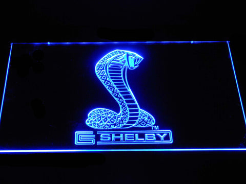 Image of Ford Shelby LED Neon Sign - Blue - SafeSpecial