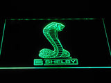 Ford Shelby LED Neon Sign - Green - SafeSpecial