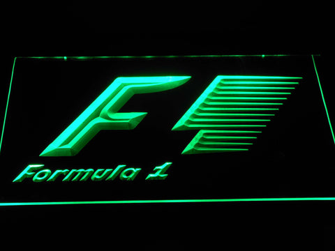 Image of Formula 1 LED Neon Sign - Green - SafeSpecial