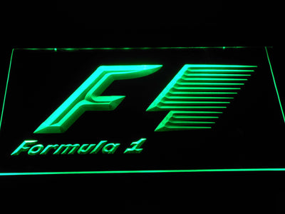 Formula 1 LED Neon Sign - Green - SafeSpecial