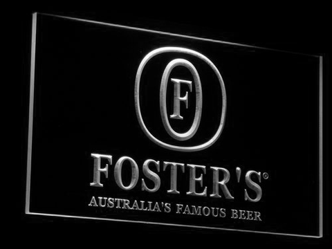 Image of Foster's LED Neon Sign - White - SafeSpecial