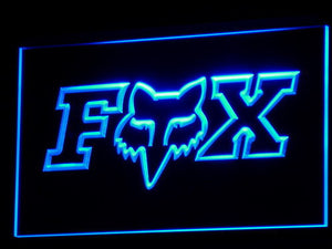 Fox LED Neon Sign - Blue - SafeSpecial