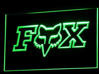 Fox LED Neon Sign - Green - SafeSpecial