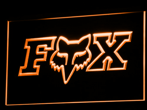 Image of Fox LED Neon Sign - Orange - SafeSpecial