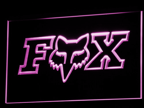 Image of Fox LED Neon Sign - Purple - SafeSpecial