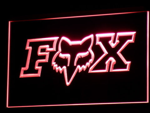 Image of Fox LED Neon Sign - Red - SafeSpecial