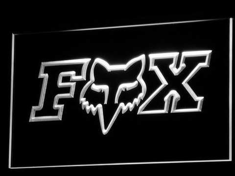 Image of Fox LED Neon Sign - White - SafeSpecial