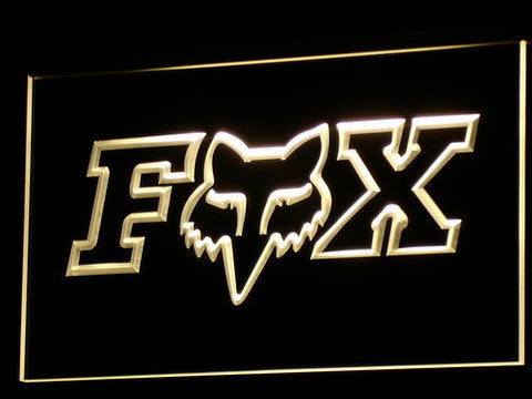 Image of Fox LED Neon Sign - Yellow - SafeSpecial