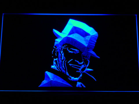 Image of Frank Sinatra LED Neon Sign - Blue - SafeSpecial