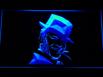 Frank Sinatra LED Neon Sign - Blue - SafeSpecial