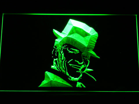 Image of Frank Sinatra LED Neon Sign - Green - SafeSpecial