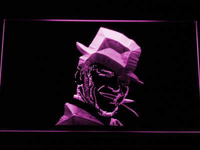Frank Sinatra LED Neon Sign - Purple - SafeSpecial