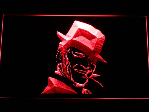 Image of Frank Sinatra LED Neon Sign - Red - SafeSpecial