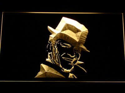 Frank Sinatra LED Neon Sign - Yellow - SafeSpecial