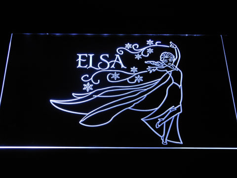 Frozen Elsa LED Neon Sign - White - SafeSpecial