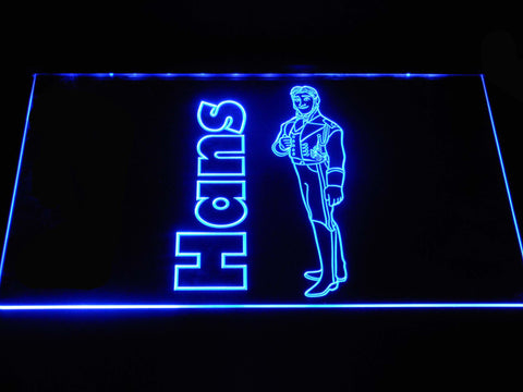 Image of Frozen Hans LED Neon Sign - Blue - SafeSpecial
