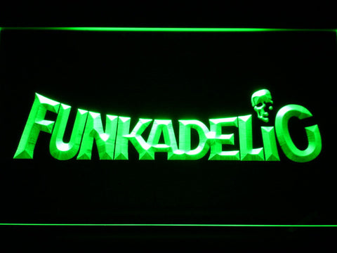 Funkadelic LED Neon Sign - Green - SafeSpecial