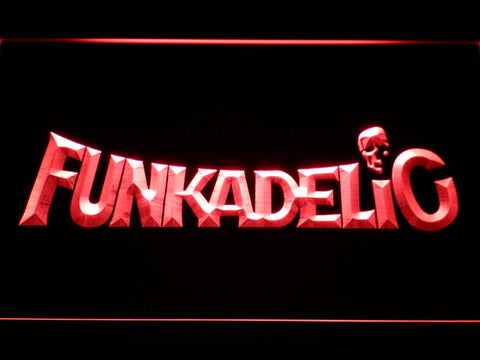 Funkadelic LED Neon Sign - Red - SafeSpecial