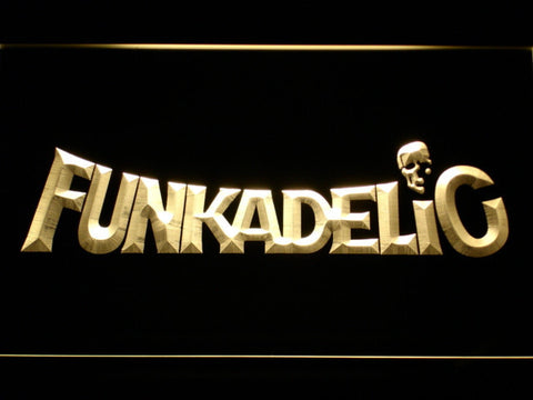 Funkadelic LED Neon Sign - Yellow - SafeSpecial