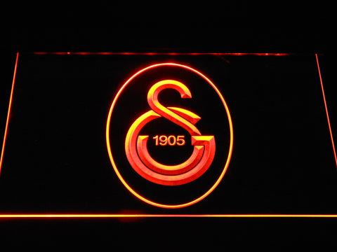 Galatasaray SK LED Neon Sign - Orange - SafeSpecial