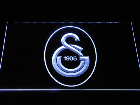 Galatasaray SK LED Neon Sign - White - SafeSpecial