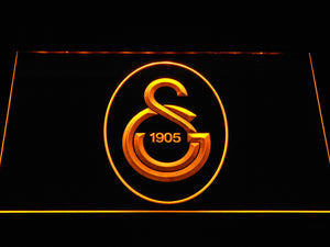 Galatasaray SK LED Neon Sign - Yellow - SafeSpecial
